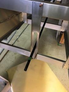Elevator Pushrod Installed